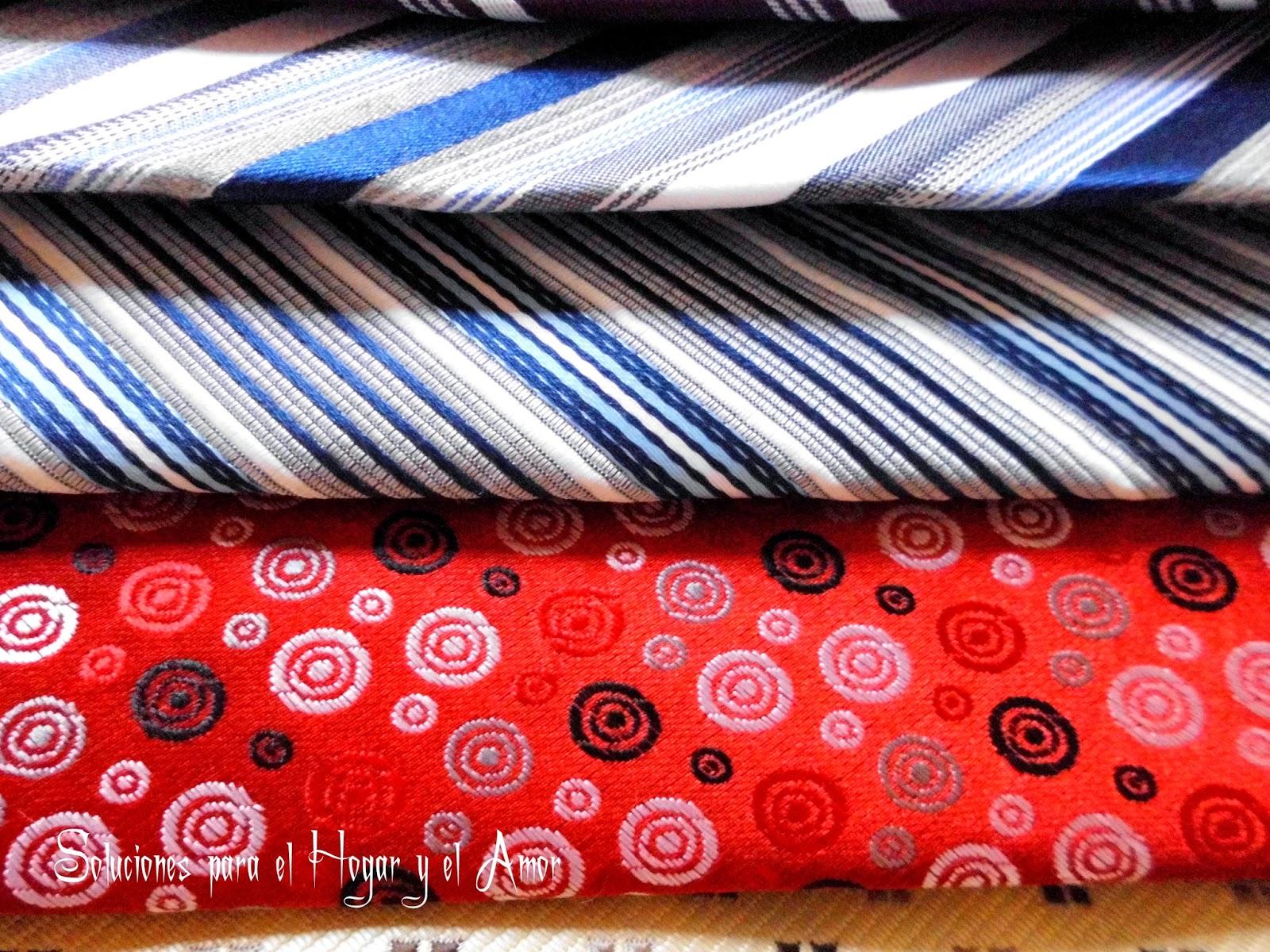 Corbatas de todos los colores y gustos, finas de seda