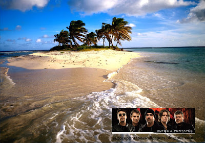 Xutos e Pontapés Wallpapers Faixa Banner da Banda em fundo de tela clássico Ilha Bonita