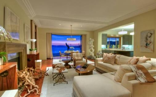 designer living room with fireplace of san franciscos villa belvedere mansion