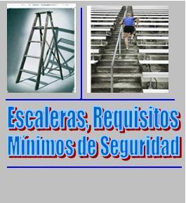 Seguridad y salud laboral venezuela y el mundo for Normas de seguridad para escaleras fijas
