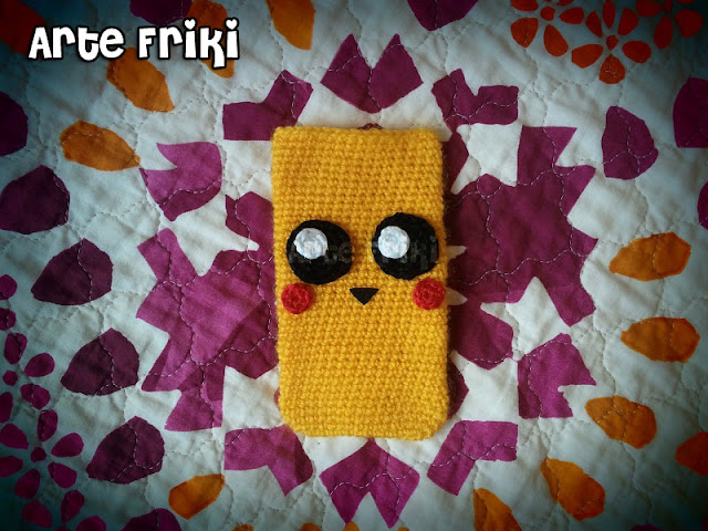fundas smartphone crochet ganchillo phone case