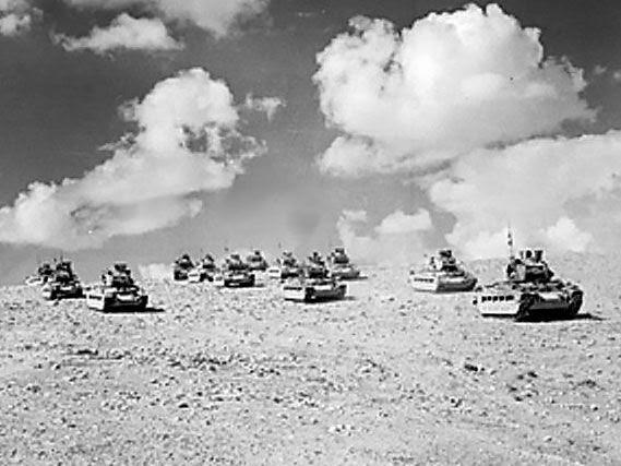 la bataille d'Alamein
