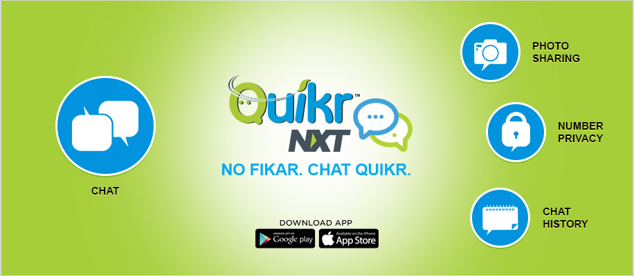 No Fikar Chat Quikr With Quikr NXT! image