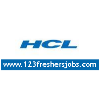 HCL Recruitment Drive 2015