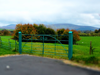 Gate and View at Russborough House