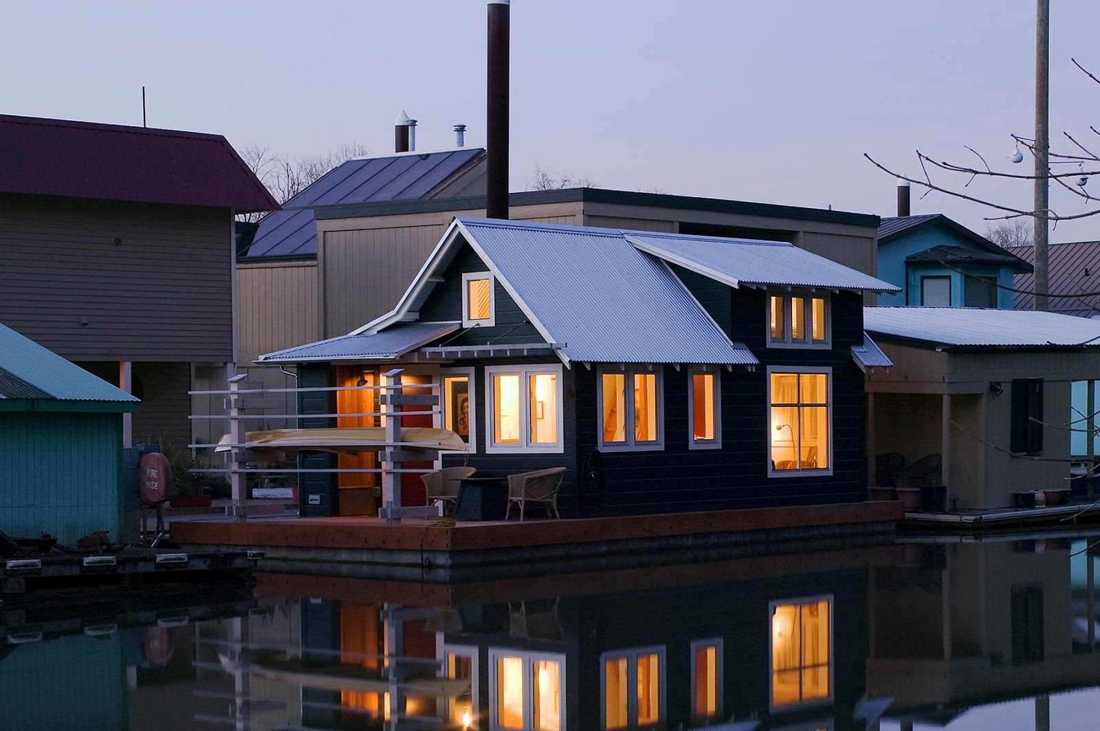 Floating Home Tender