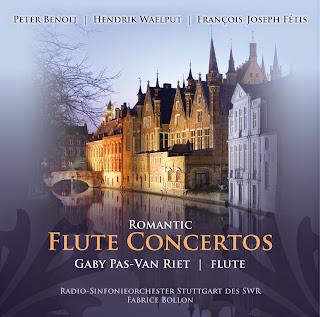 Gaby Pas-Van Riet – Flute Concertos (Romantic) - Benoit, P. / Waelput, H. / Fetis, F.J.