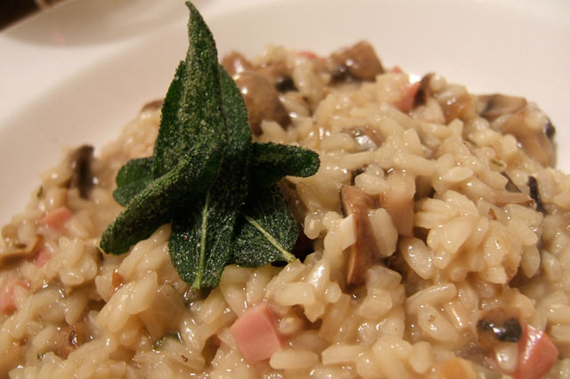 kochsaison risotto mit champignons. Black Bedroom Furniture Sets. Home Design Ideas
