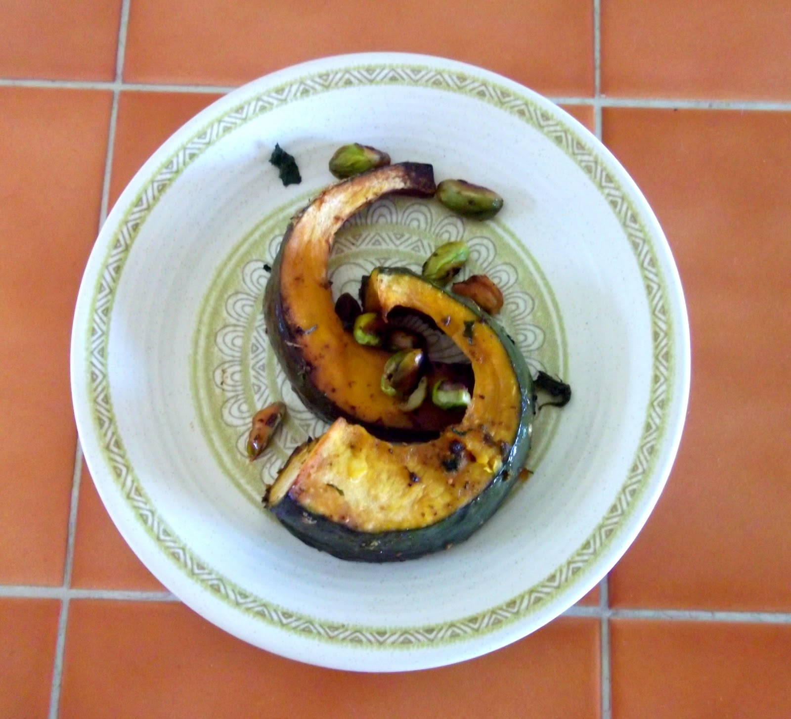 Julia's (Vegan) Kitchen: Roasted Acorn Squash with Mint ...