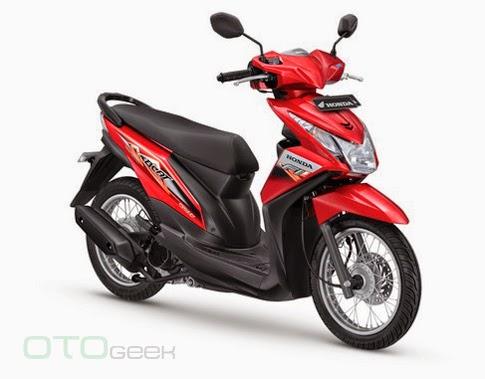 Honda BeAT 110 Fi SW Merah