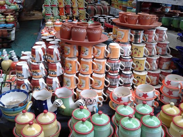 khurja pottery in Shilparamam
