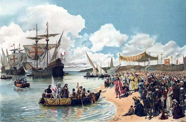 Vasco da Gama, partida para a India, 1497