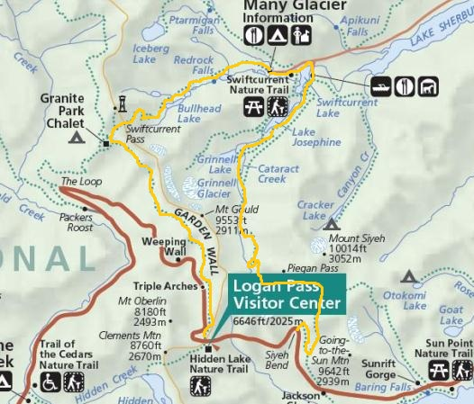 The Huckleberry Hiker: Glacier\'s Grand Loop Hike