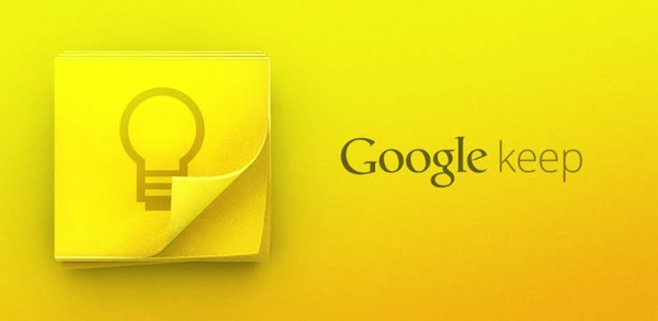 Google Keep Android App