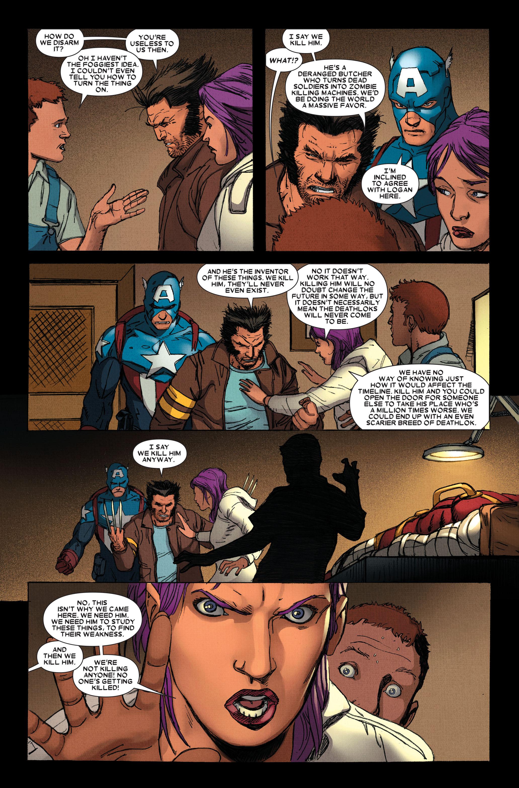 Wolverine: Weapon X #13 #4 - English 19