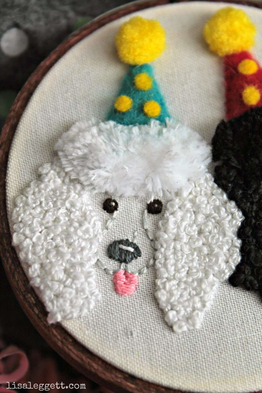 Griffin the Party Poodle by Lisa Leggett