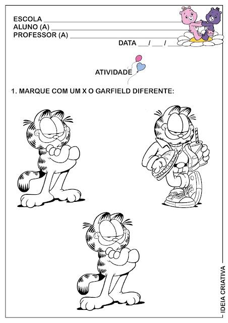 Atividade Conceitos com o Garfield