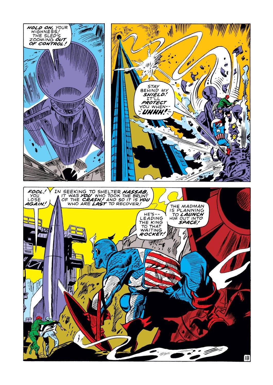 Captain America (1968) Issue #129 #43 - English 18