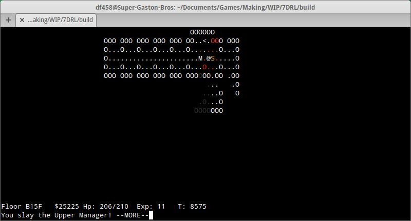 A screenshot of Something Something Office Rampage