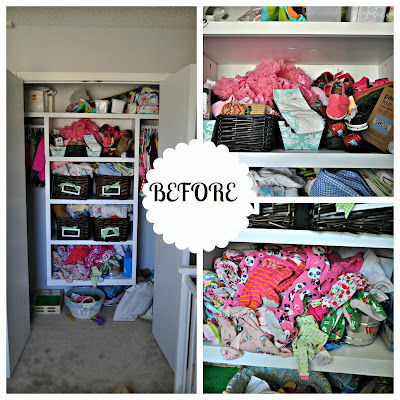 closet organization-before