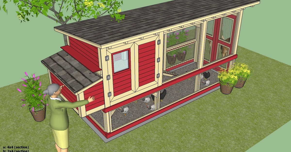 Portable chicken run designs most popular coop channel for Plans for a chicken coop for 12 chickens