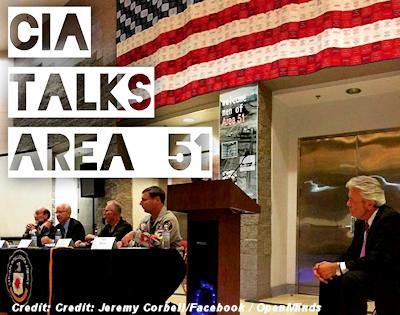 CIA Panel Talks UFOs at Area 51