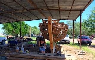 Buehler sailboat build epoxy