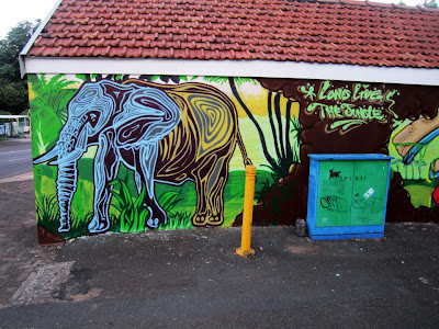 Mook Lion Street Art