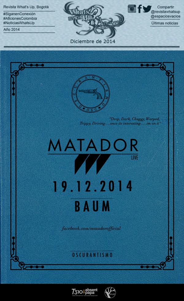 Matador- ritmo-pista-Baum-diciembre