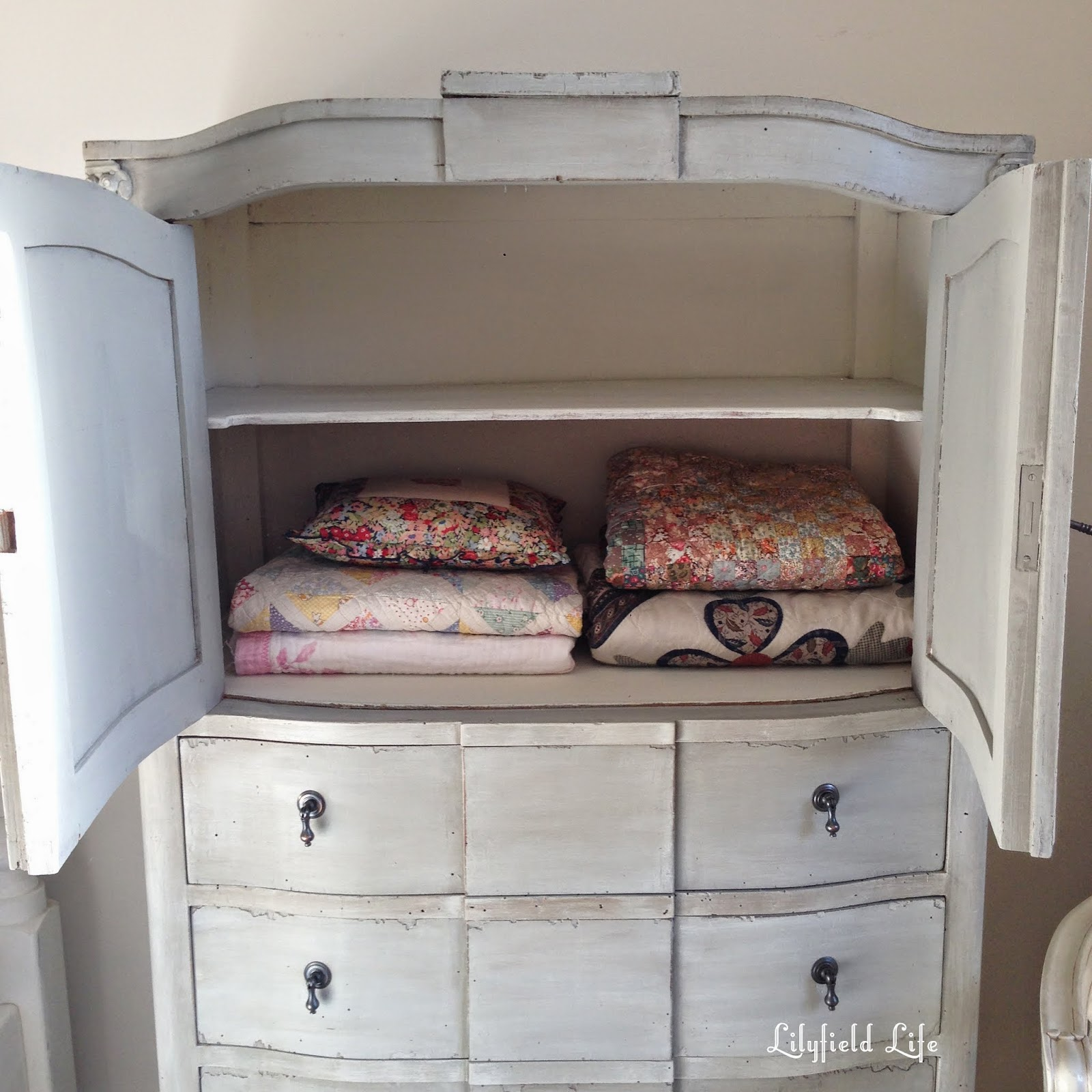 French painted armoire by Lilyfield Life