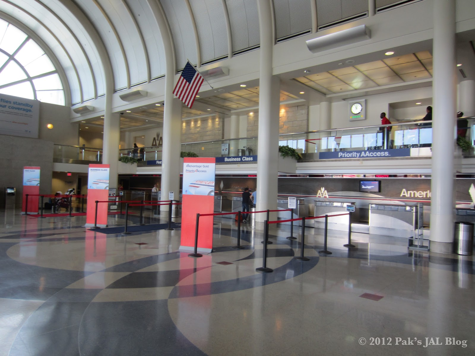 JAL Flyer: Sampling oneworld Premium Services: American ... American Airlines Check In