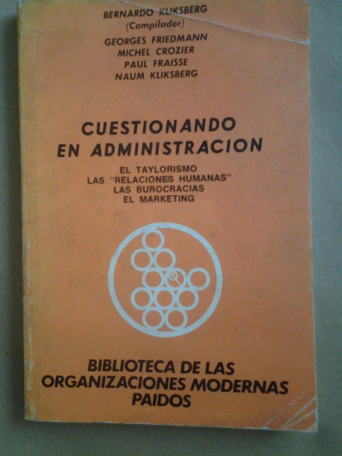 65 - Libro publicado por la Editorial Paidos. Argentina.1979.