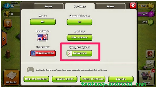 how to move accounts in clash of clans android