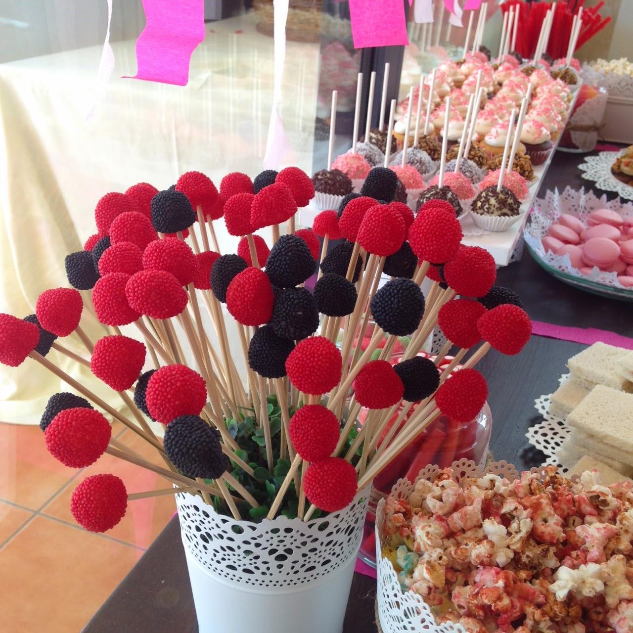 Mesa dulce salada de amart para la boda de malen juan for Dulce boda