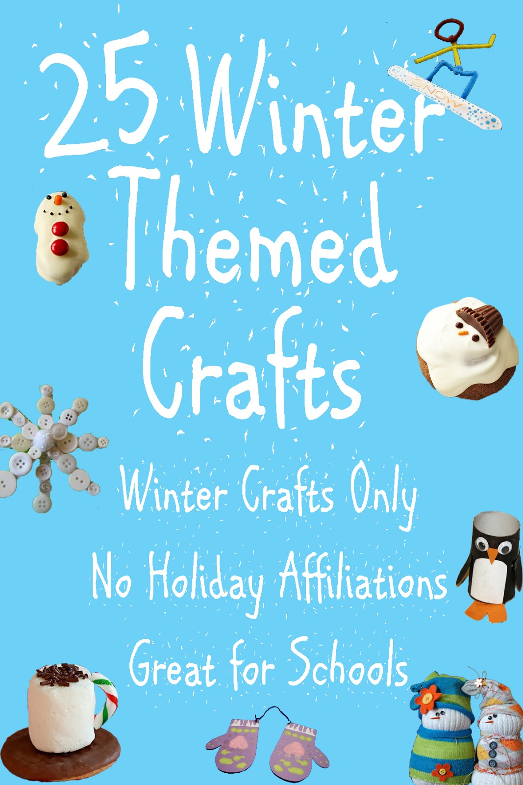 25 Winter Themed Crafts Mom Envy