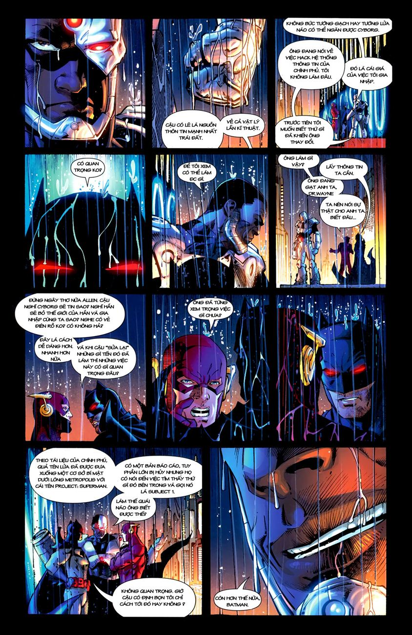FlashPoint chap 3 - Trang 20