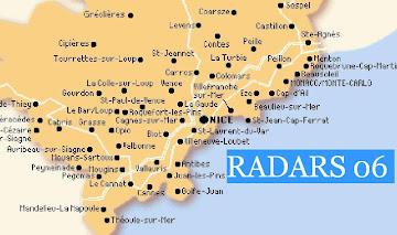 RADARS 06 ALPES MARITIMES