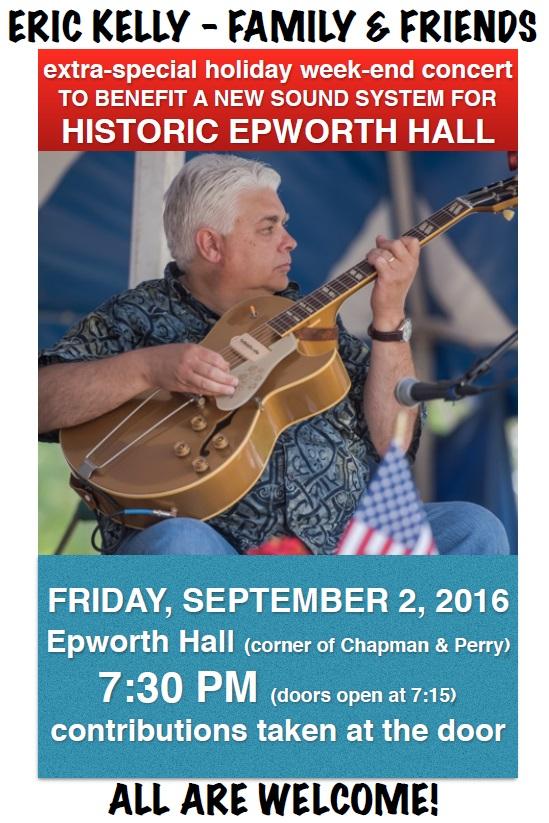 Sept. 2 - Benefit Concert