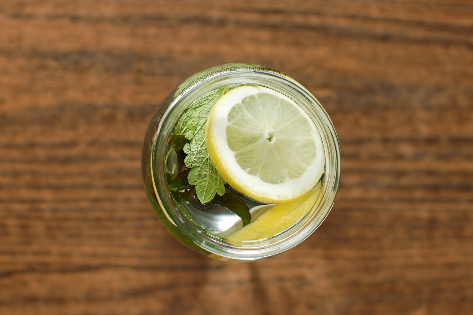 Lemon Mint Melissa Infused Water