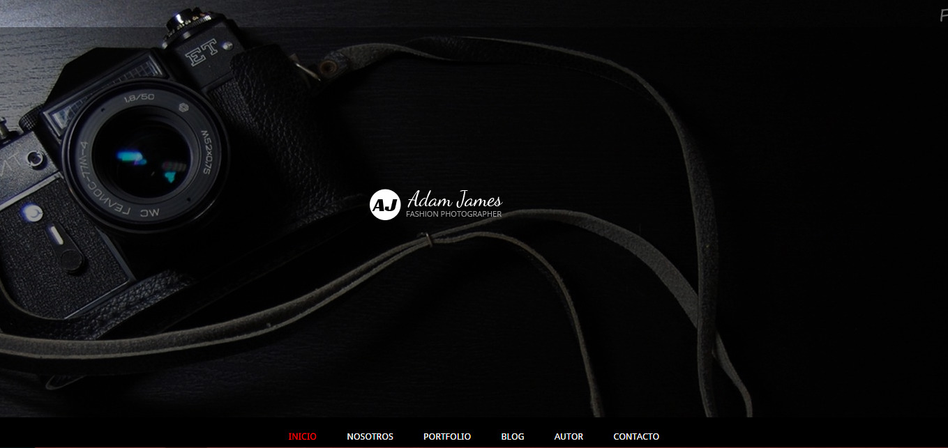 Photography Theme Blogger Template Profesional Responsive