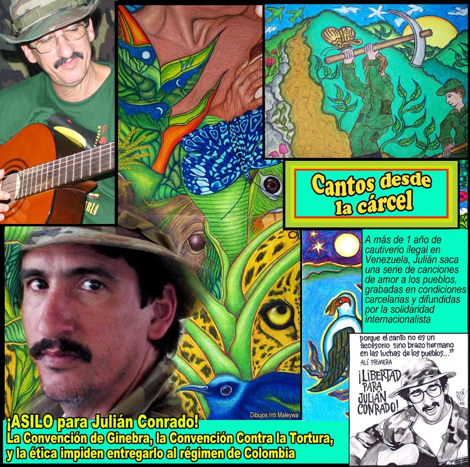 Letras y música: Canciones de Julián Conrado escritas y grabadas en ...