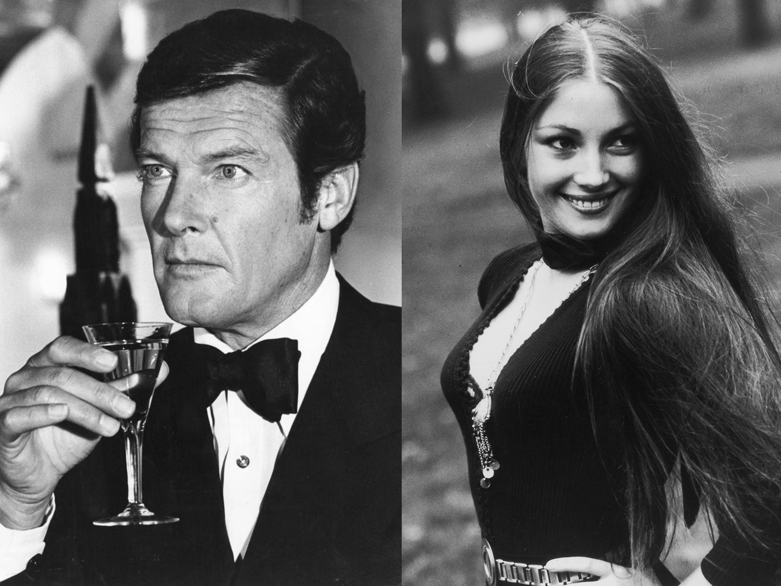 Roger Moore Jane Saymour