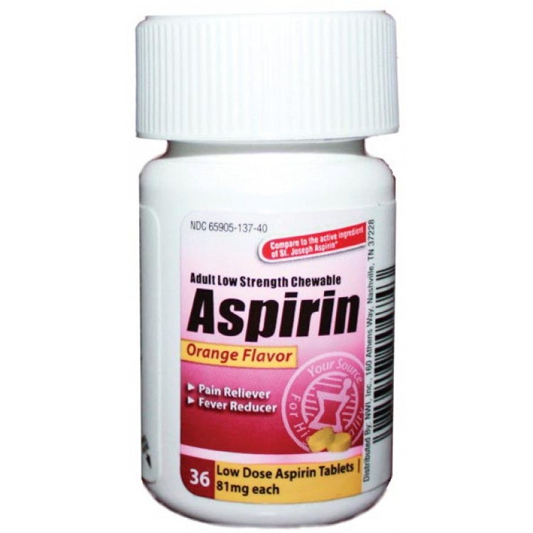 Aspirin Brand Names List