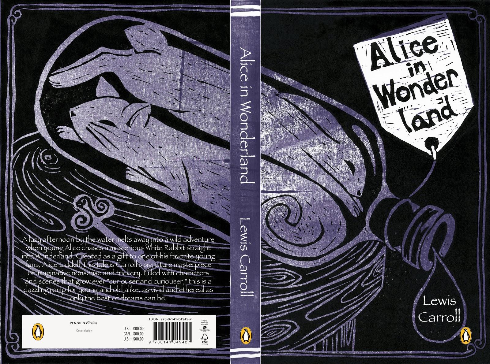 Alice In Wonderland Book Cover Designs : Penguin design awards alice in wonderland sophie
