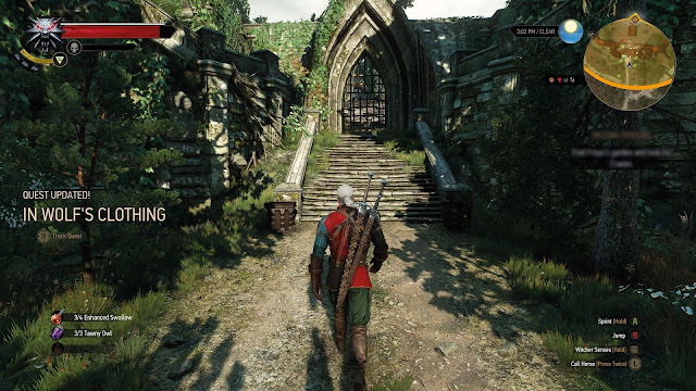 Witcher 3 review screenshot