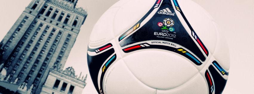 UEFA euro 2012 match ball facebook cover