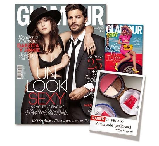Regalos revistas Marzo 2015: Glamour