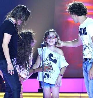 Iraila Latorre La voz kids