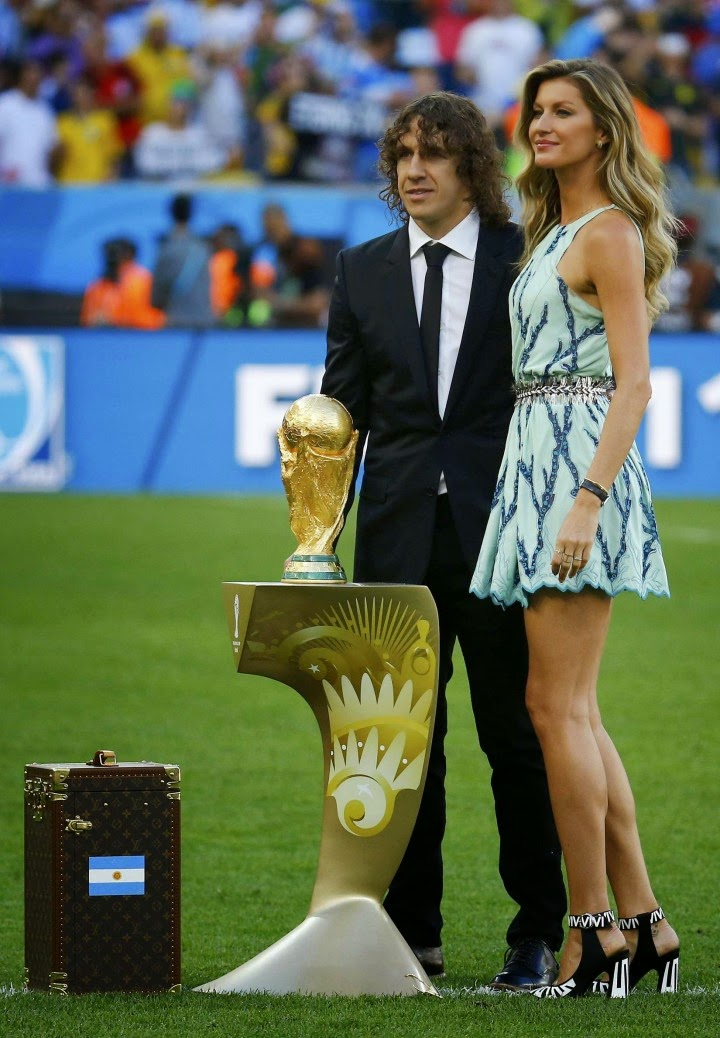 Gisele Bundchen at 2014 FIFA World Cup