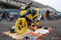 Motor Custom Motorcycle Modify Moto Contest Yamaha Legenda